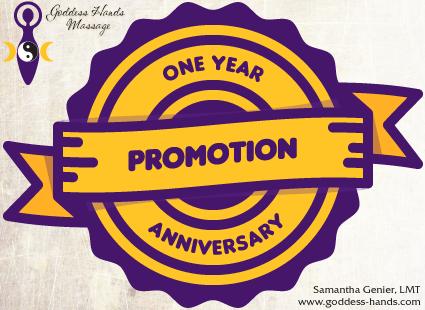 One Year Anniversary Promo!